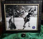"1970 Boston Bruins Stanley Cup Ring & Framed 8""x10"" pic of Bobby Orr: ""the goal"""