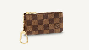 Authentic Louis Vuitton Damier Ebene Key Pouch Made In France