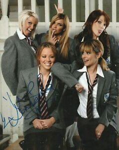 """KIMBERLEY WALSH  AUTOGRAPH SIGNED 10""""X8"""" PHOTO (DAMAGED SEE DESCRIPTION)  55"""