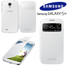 Original Samsung S VIEW FLIP CASE Galaxy S4 GT I9500 mobile cell phone cover new