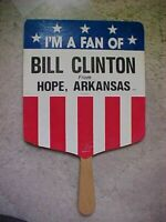 "Political Fan ""I'm a Fan of Bill Clinton"" from Hope Arkansas Souvenir"