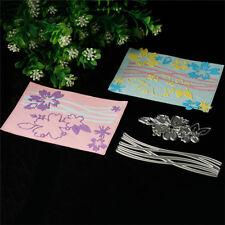 Blume Karte Cutting Dies Stencil DIY Scrapbooking Album Tagebuch Stanzschablone