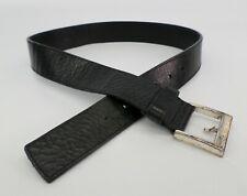 Kenneth Cole New York 32 Belt Pebbled Leather Black