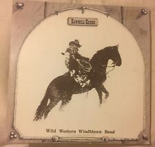 SAWMILL CREEK Wild Western Windblown Band LP private country rock