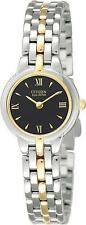 Citizen Eco-Drive EW9334-52E Silhouette Two Tone Ladies Watch NEW $265