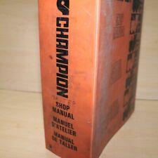 CHAMPION 710 715 720 726 730 740 750 760 770 Motor Grader Service Manual repair