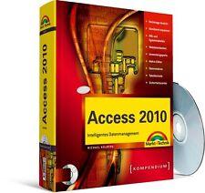Access 2010 Kompendium 856 Seiten mit CD-ROM Markt&Technik NEU