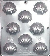 """Shell Assembly 2""""x 2 1/4"""" Chocolate Candy Mold Candy Making 155 NEW"""