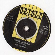 """The Spotnicks - Hava Nagila 7"""" Single 1963"""