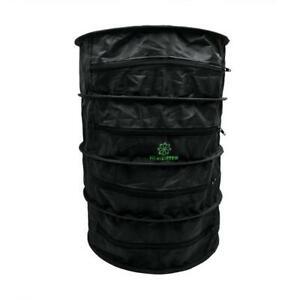 HerbDryer belüftetes Drying Rack M oder XL mit Aktivkohlefilter NEU Trockennetz