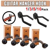 1/2/3/5/10 Pack Guitar Bass Banjo Violin Mandolin Hanger Wall Hook Holder US