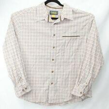 CABELA'S MEN'S SHIRT SIZE 2XL XXL Long Sleeve Lightweight Flannel Button Down