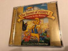 THE SECRET OF NIMH 2 (Lee Holdridge) OOP 1998 Soundtrack Score OST CD NM