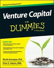 Venture Capital for Dummies by Nicole Gravagna: Used