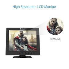 8'' TFT LCD HD 1024*768 dslr kamera überwachen bnc video und hdmi 12V DC Output