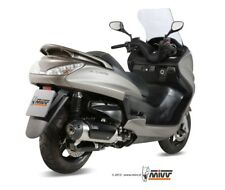 Scarico MIVV Yamaha Majesty 400 Ap. 2007 Acciaio Inox, Catalizzatore