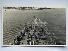 REGIA MARINA nave ship 1939 Crociera oceanica vecchia cartolina