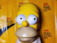 Homer Simpson HARD HEAD plush VINTAGE COLLECTABLES 1990 Authentic*** RARE