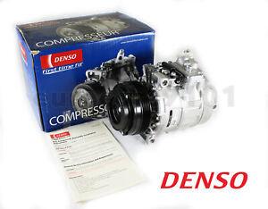 New! BMW 528i DENSO A/C Compressor and Clutch 471-1118 64528385919