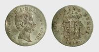s600_2)  FIRENZE - Leopoldo II di Lorena (1824-1859)  10 Quattrini 1858 CARENZE
