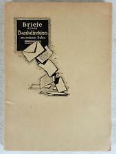 Argentarius (d.i. Alfred Lansburg ) Vom Gelde. 1921. Erstausgabe