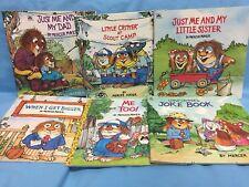 Mercer Mayer Books Lot Of 6 Paperbacks 1983