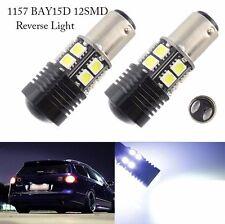 2X 1157 BAY15D 20W LED Bulbs Projector Lens Brake/Rear/Stop Lights Lamps White