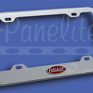 SS Peterbilt License Plate Frame