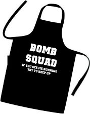BOMB SQUAD / Chefs / Cooks / Apron / BBQ / Birthday / Xmas / Party / Holiday