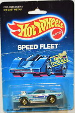 HOT WHEELS 1988 BLOWN CAMARO Z28 SPEED FLEET
