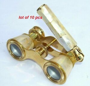 Finish Brass Marine Maritime Brass Nautical Binocular