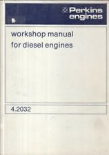 PERKINS 4.2032 SERIES DIESEL ENGINE ORIGINAL FACTORY WORKSHOP MANUAL