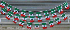 Mexican 30 Flags 9 Metres Long Flag Banner String Bunting Mexico Party