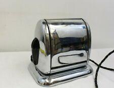 Vintage Chrome Eaton Co. Berkley Toaster Art Deco Drop Side Flip