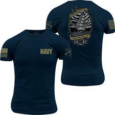 Grunt Style USN - Edge of the World T-Shirt - Navy