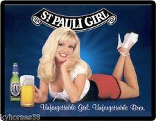 St. Pauli Girl Beer Babe Refrigerator Magnet