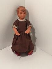 Vintage Dollhouse Miniatures Girl Doll #84