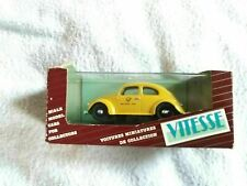 VITESSE DIECAST MODEL CAR YELLOW VW VOLKSWAGEN BEETLE 408 DEUTSCHE BUNDESPOST