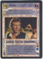 Star Wars CCG Reflections I (1) FOIL Han Solo M/NM