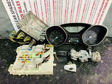 FORD FOCUS MK3 1.6L PETROL MANUAL ENGINE ECU KIT SET  BV61-12A650-BD