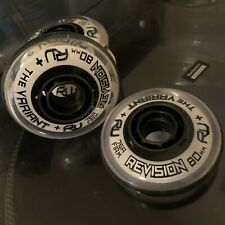 Revision The Variant 76A Hard Indoor Inline Wheels 4x 80mm