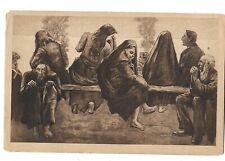 Judaica Germany rare Old Postcard Jerusalem By Lezzer Ury Jewish Community