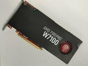 AMD FirePro W7100 8GB GDDR5 4x DP DisplayPort Video Graphics Card