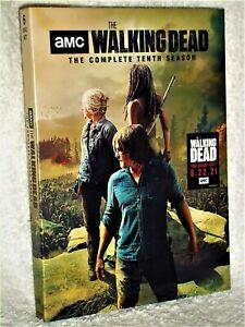 The Walking Dead Complete Season 10 (DVD, 6-Disc, 2021) NE horror Andrew Lincoln