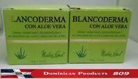 2 x BLANCODERMA Whitening Cream 2.5 Oz. CREMA BLANQUEADORA ALOE VERA Brasil Japa