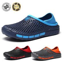 Summer Men's Women's Hollow Out Beach Sandals Shoes Breathable Garden Slippers