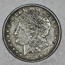 1921 MORGAN DOLLAR, 90% SILVER