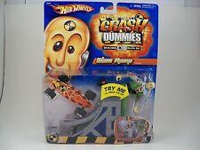 Hot Wheels Incredible Crash Dummies Slam Ramp with Skateboard NEW 2004