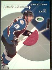 JOE SAKIC 03/04 AUTHENTIC PIECE FROM A GAME-USED JERSEY /70  SP