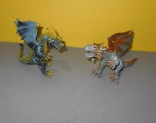 Toy Major Trading Co. Dark Dragon Fantasy & Elite Dragon PVC Figures